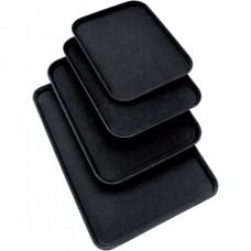Поднос официанта прямоугольный  450*350  мм черный