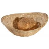 Корзинка овальная 25*19см из бамбука
